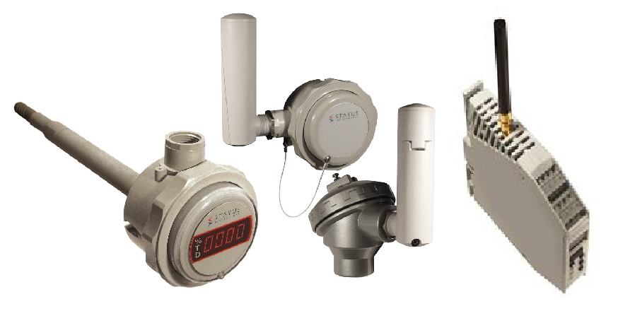 Wireless temperature transmitters
