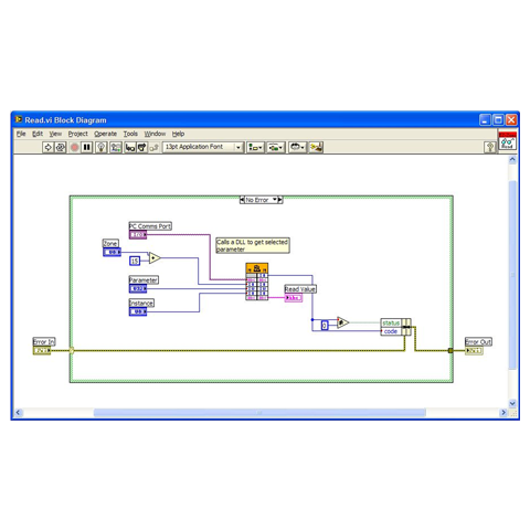 Labview Driver Software